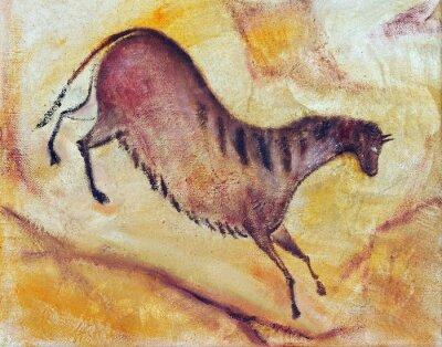 Obraz koń - cave painting