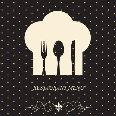 Obraz Koncepcja menu restauracji.