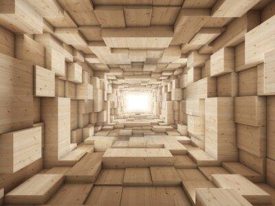 Obraz koniec tunelu