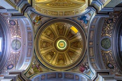 Obraz Kościół San Lorenzo Martire Zagarolo Roma