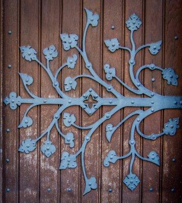 Obraz Kościół Zawias drzwi ozdobny