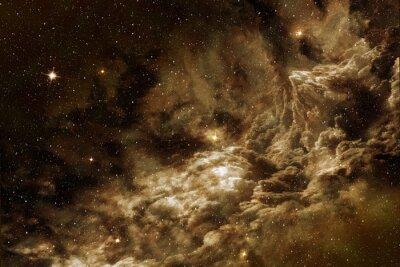 Obraz kosmicznego gazu w przestrzeni gwiezdnej tle