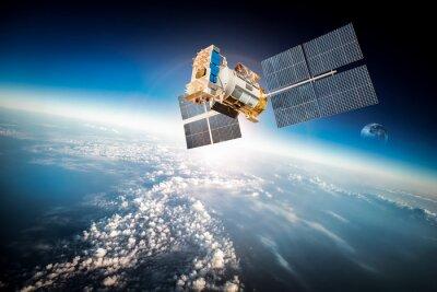 Obraz Kosmos satelity nad planety Ziemi