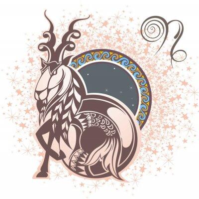 Obraz Koziorożec. znak zodiaku