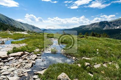 Krajobraz Górski Reflection Pool