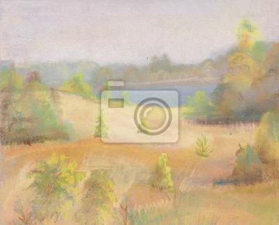 Obraz Krajobraz sierpnia