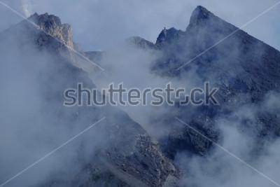 Obraz Krater góry Merapi. Sleman Yogyakarta, Indonezja.