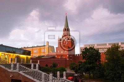 Kreml przed deszczem