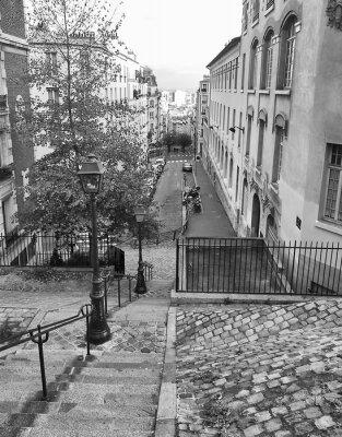 Obraz Kroki Montmartre, Paryż