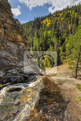 Krowa Creek powyżej Bridal Veil Spada jesienią