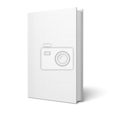 Obraz Książka puste pionowe szablonu.