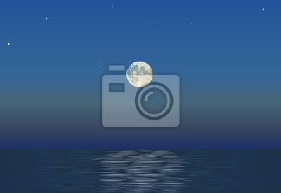 Księżyc i morze