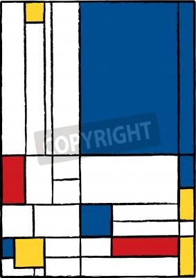 Obraz Kubistyczny obraz