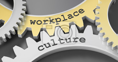 Obraz kultura w miejscu pracy