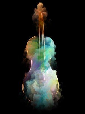 Obraz Kwiat muzyki