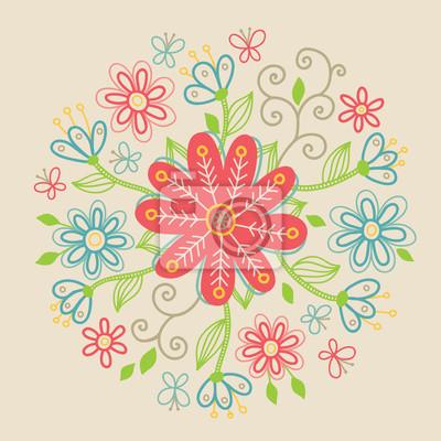 Kwiatowy ornament