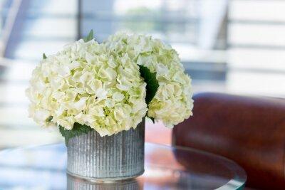 Obraz Kwiatowy w otoczeniu salonu
