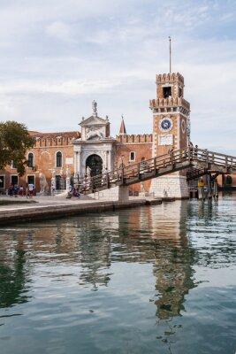 Obraz L'Arsenale, Venezia, Wenecja, Włochy