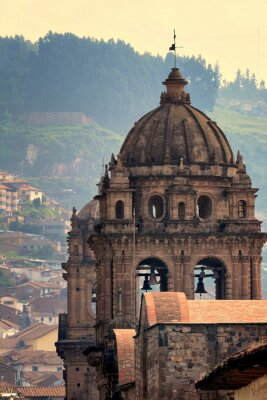 Obraz La Compania, Plaza de Armas, Cusco, Peru