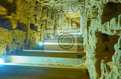 Labirynt starych katakumb, Aleksandria, Egipt