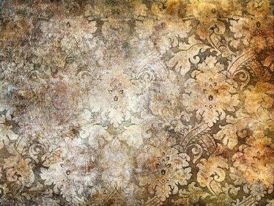 ładne tło dekoracyjne w złotych kolorach
