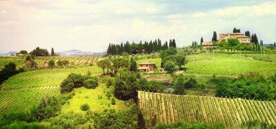 Obraz ladscapes Toskanii serii Bella Italia