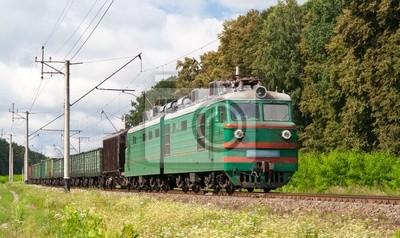 Ładunki elektryczne pociągu