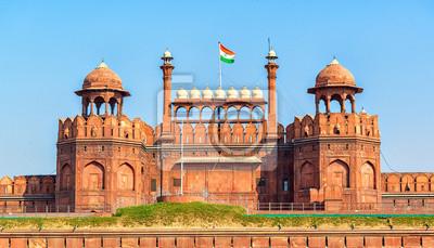 Obraz Lal Qila - Czerwony Fort w Delhi, Indie