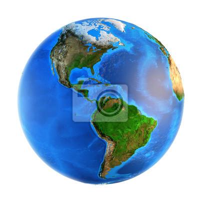 landforms planeta Ziemia