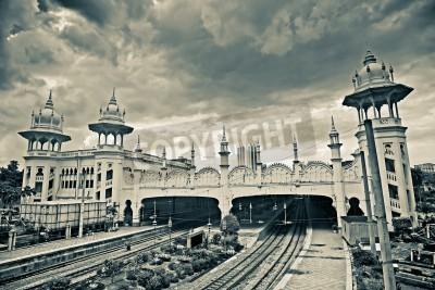 Obraz Landmark of station buildings in Kuala Lumpur, Malaysia, Asia.