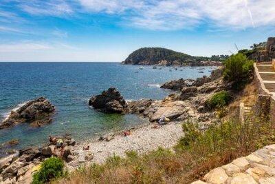 Obraz Landscape Fosca beach in Palamos, Costa brava, Catalonia, Spain