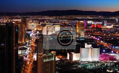 Las Vegas Strip z lotu ptaka