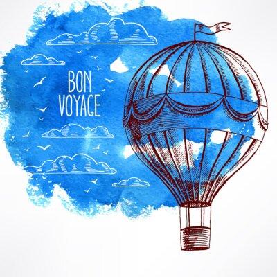 Obraz latający balon - 2