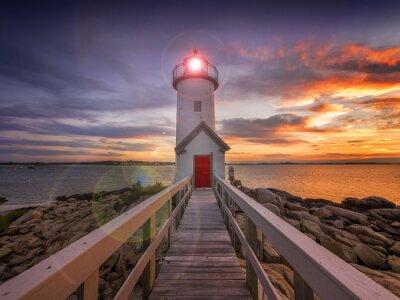 Obraz Latarnia morska w Gloucester, MA. USA