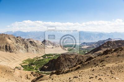 Leh w Ladakh, dolina Indiach