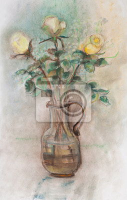Obraz Lekkie róże