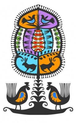 Obraz Leluja kurpiowka Kolor