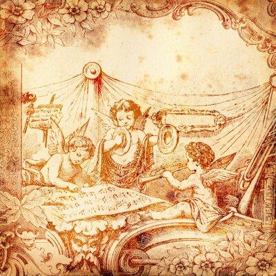 Obraz Les anges Musiciens