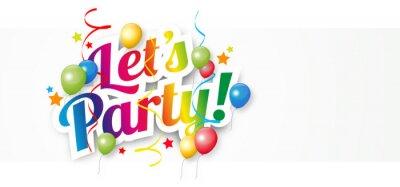 Obraz Let's party !