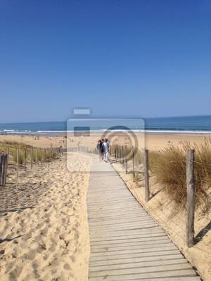Letni dzień na plaży