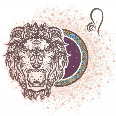 Obraz Lew. znak zodiaku