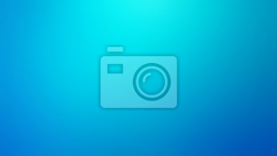 Obraz Light Blue and Teal Defocused Blurred Motion Abstract Background, Widescreen, Horizontal