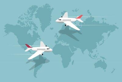 Obraz Linie lotnicze