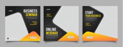 Obraz live webinar digital marketing post banner