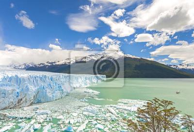Lodowiec Perito Moreno w Argentynie.
