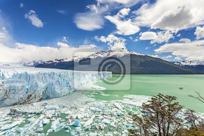 Lodowiec Perito Moreno w Parku Narodowym Los Glaciares, Argent