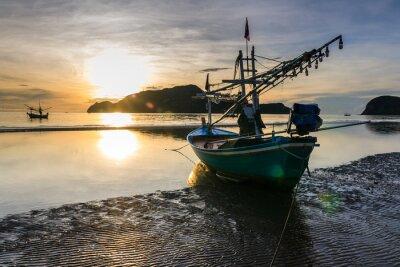 Obraz Łodzi rybackich
