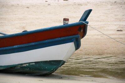 Obraz Łodzie na plaży
