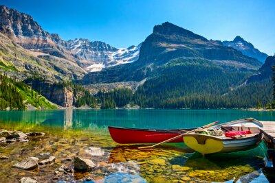 Obraz Łodzie O `Hara jezioro