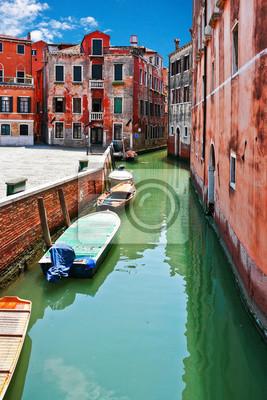 Łodzie w Wenecji